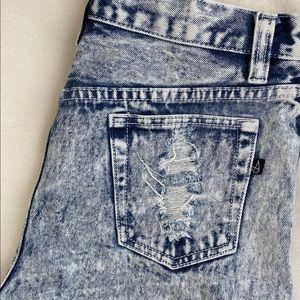 Minkpink acid wash jeans
